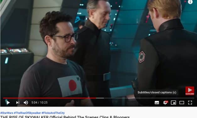 Camera Geekery: J.J. Abrams wearing a JCH X TogTees shirt!