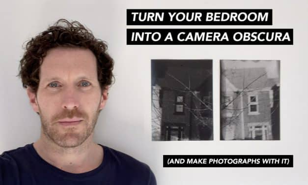 Self Isolation: How to turn your bedroom into a camera by Brendan Barry