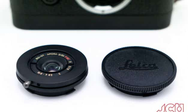 Camera Geekery: MS Optics Aporia 24mm f2 M mount