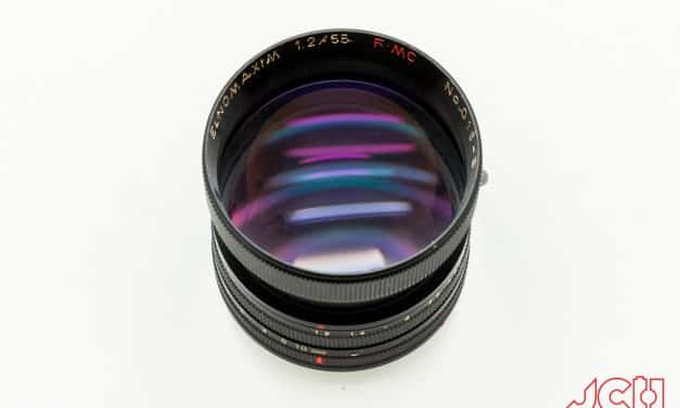 Camera Geekery: MS OPTICS ELNOMAXIM 55MM 1.2 M-MOUNT