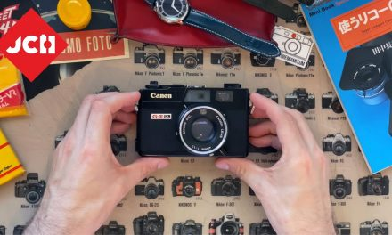 JCH YOUTUBE CHANNEL: The Canonet QL17 GIII
