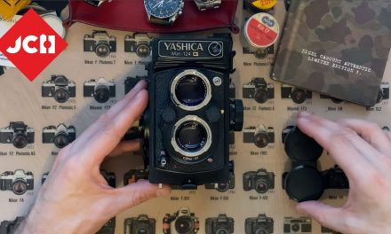 JCH YOUTUBE CHANNEL: Yashica Mat 124G