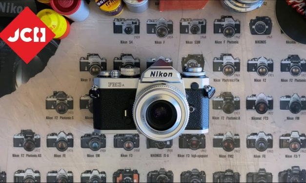 JCH YOUTUBE CHANNEL: The Nikon FM3A