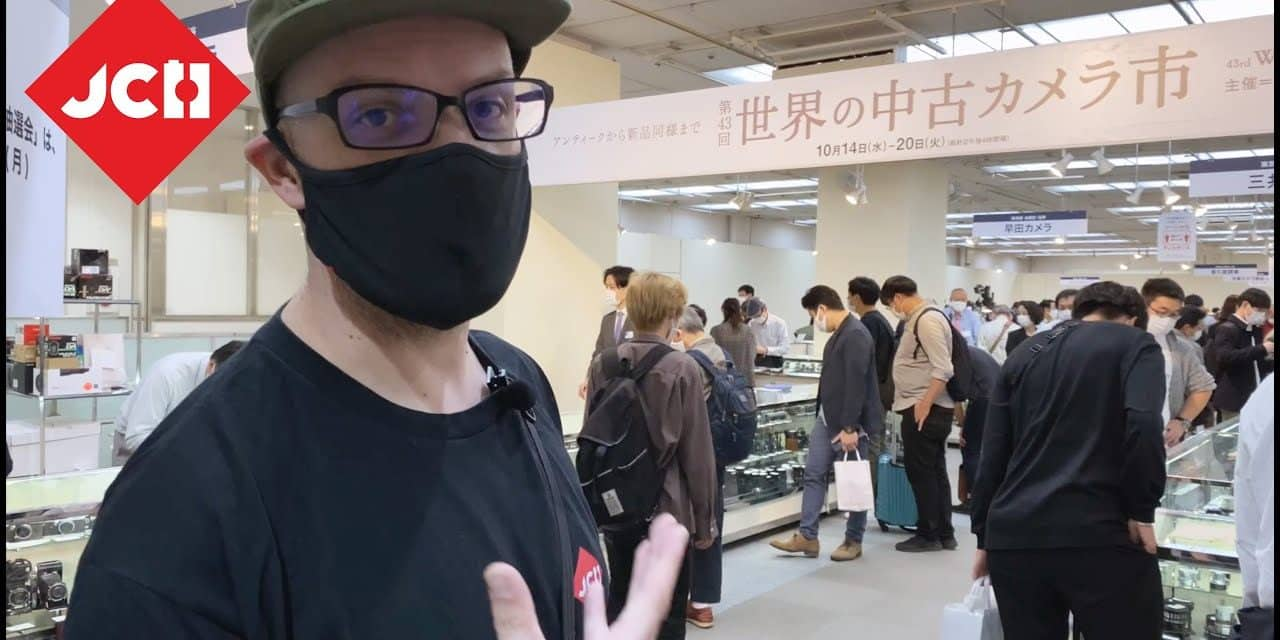 JCH YOUTUBE CHANNEL: The 43rd World Used Camera Fair in Tokyo