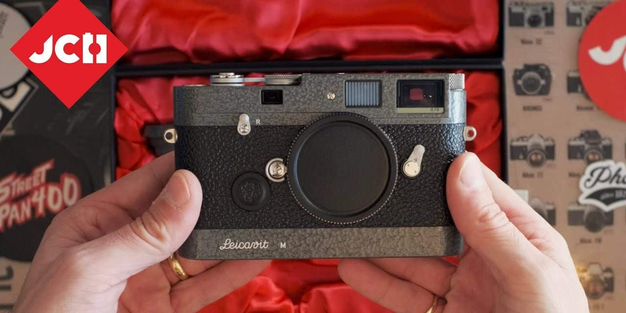 JCH YOUTUBE CHANNEL: The Leica MP Hammertone LHSA 1968 -2003 Edition