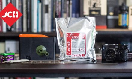 JCH YOUTUBE CHANNEL: Developing color film with CineStill C41 in the new office