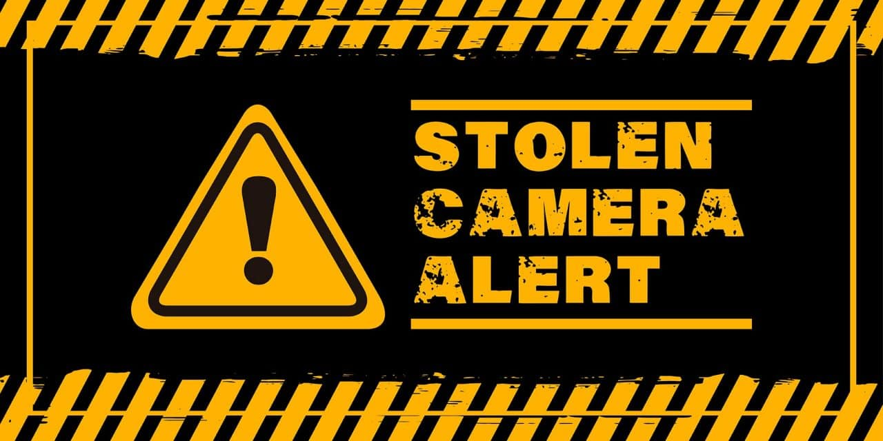 Stolen camera gear, be on the lookout!