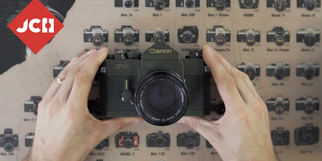 JCH YOUTUBE CHANNEL: The Canon F-1